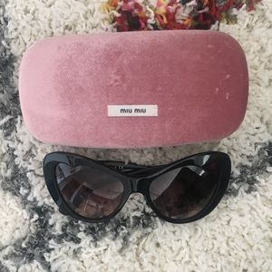 Miu Miu Cat Eye Sunnies